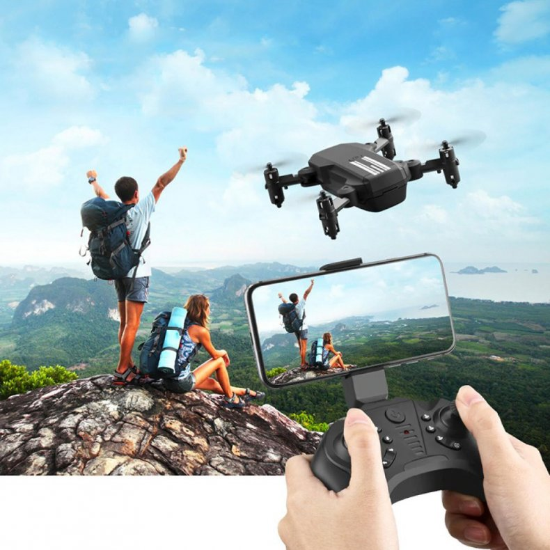 Fjernstyret Drone Sammenfoldelig Med 4K Kamera